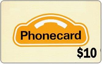 $10 Phone Card