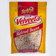 Velveeta Cheesy Refried Beans