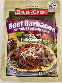 BRUSHY CREEK BEEF BARBACOA