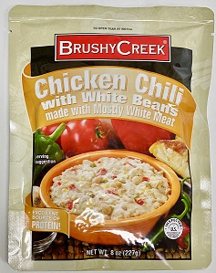BRUSHY CREEK CHILI CHICKEN W/ WHITE BEANS