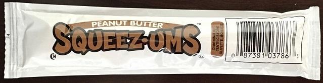Peanut Butter Squeeze Tubes 1.12 oz
